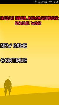 Robot Ninja Armageddon apk screenshot