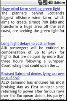 Glasgow News screenshot 1