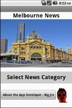 Melbourne News poster
