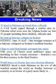 Melbourne News apk screenshot