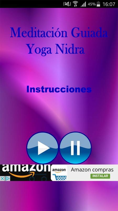 Meditacion Guiada Yoga Nidra Apk Screenshot