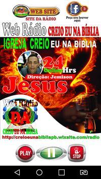 Rádio Creio Eu Na Bíblia poster