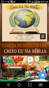 Rádio Creio Eu Na Bíblia apk screenshot