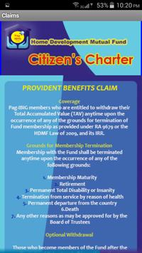 Pag-IBIG Fund Citizen's Charter (unofficial app) screenshot 5