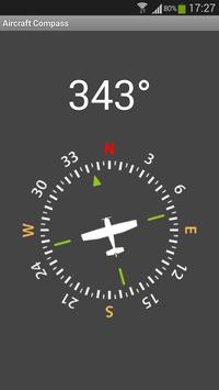 Aircraft Compass Free poster