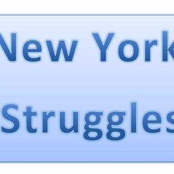 New York Struggles poster