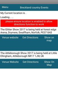Breckland Country Events screenshot 2