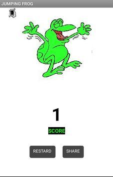 Jumping Frog apk screenshot