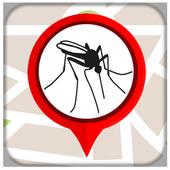 Marcador do Mapa do Aedes icon