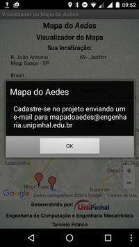 Visualizador do Mapa do Aedes apk screenshot