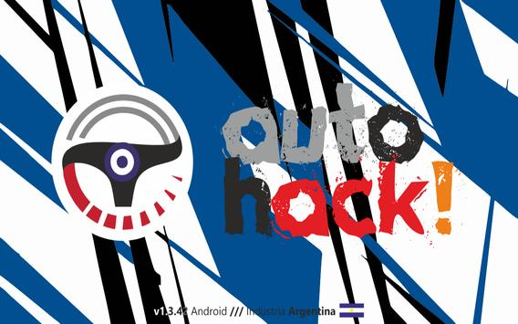 autoHACK! Free poster