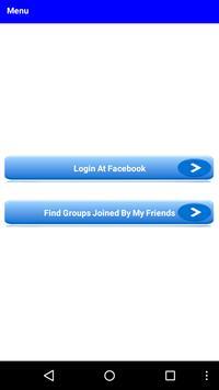 Friends Group Finder screenshot 1