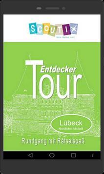 Lübeck, Demo Entdeckertour, nördl. Altstadt poster