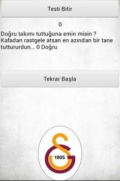 Fanatik Testi apk screenshot