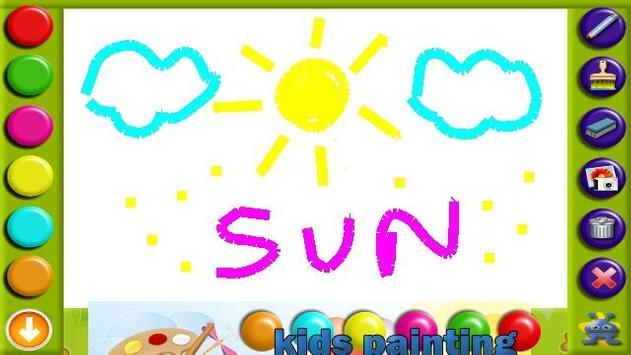 Kids Painting Free apk screenshot