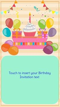 Birthday invitation maker apk download free entertainment app for birthday invitation maker apk screenshot stopboris Choice Image