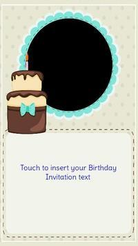 Birthday invitation maker apk download free entertainment app for birthday invitation maker apk screenshot stopboris Choice Image