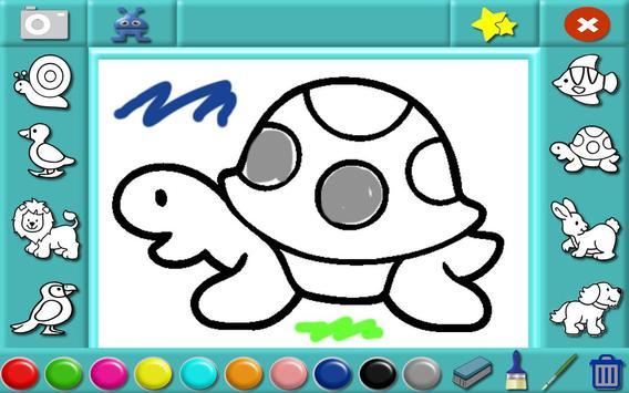 Coloring Animals Preschool screenshot 1