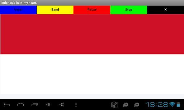 National Anthem of Indonesia apk screenshot