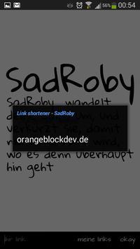 Link shorter - SadRoby screenshot 2