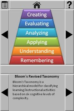 Bloom's Revised Taxonomy poster