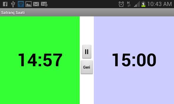 Satranç Saati screenshot 1