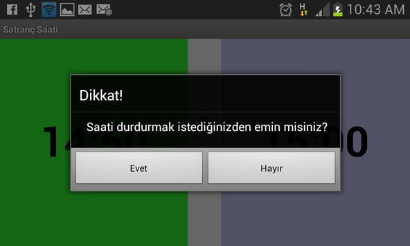 Satranç Saati screenshot 2