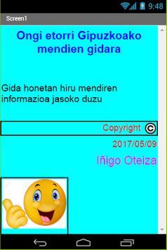 Gipuzkoako mendiak apk screenshot