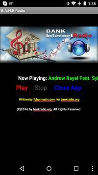 B.A.N.K Internet Radio poster