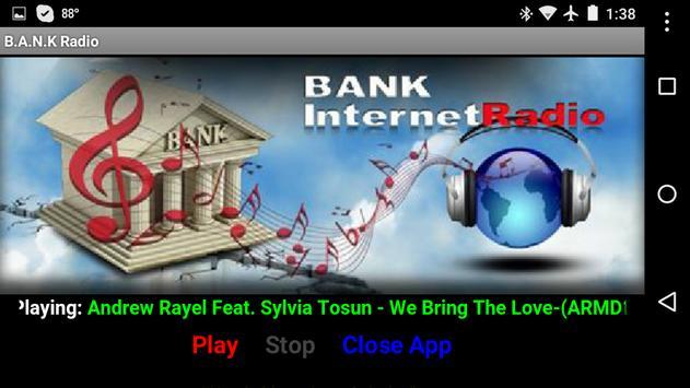 B.A.N.K Internet Radio screenshot 1