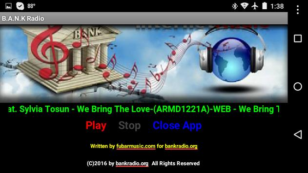 B.A.N.K Internet Radio screenshot 2