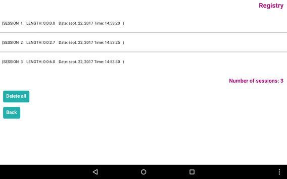 Sitzung Lite screenshot 9