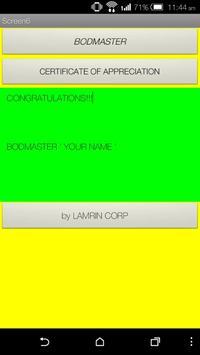 BODMASTER - Maths Quiz poster