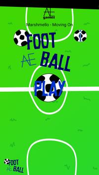 foot ball AE poster