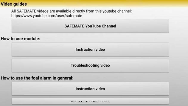 SAFEMATE apk screenshot