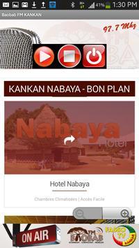 Baobab FM Kankan screenshot 2
