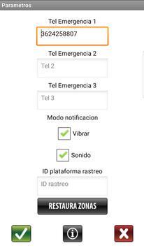 Entrada Segura SATCOM screenshot 2