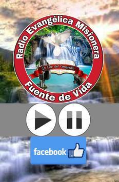 Radio Evangelica Misionera Fuente de Vida poster