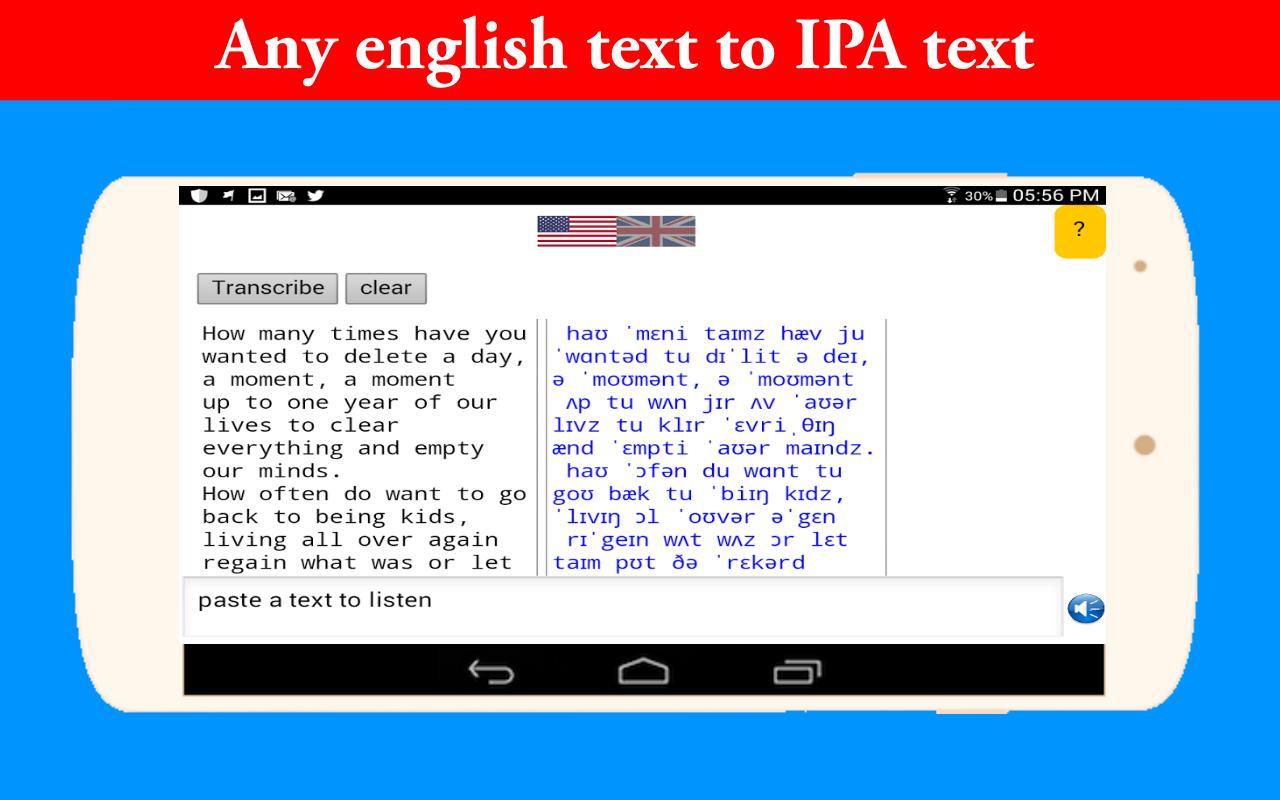 Full Phonetics Symbols English for Android - APK Download