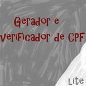 |Gerador de CPF Lite icon
