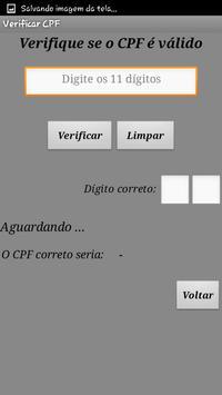 |Gerador de CPF Lite screenshot 1