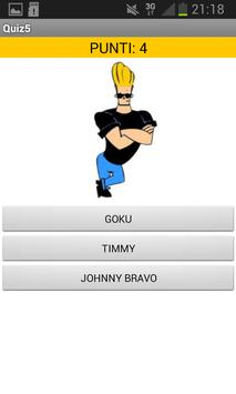 Cartoon quiz apk screenshot