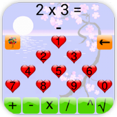 Mathematical mind icon