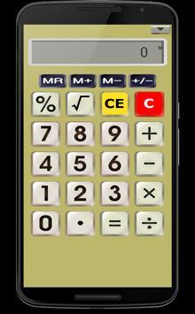 CALK calculator poster