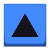 Pole trójkąta icon