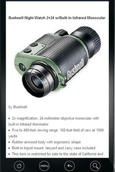 Infrared Binoculars poster