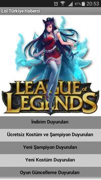 League of Legends Haberci poster