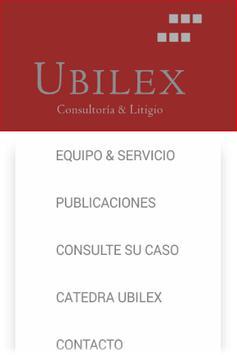 Abogados Ubilex screenshot 1