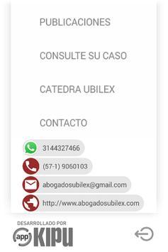 Abogados Ubilex screenshot 6