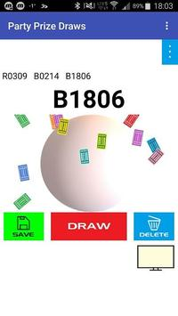 Party Prize Draws pour Android - Téléchargez l'APK
